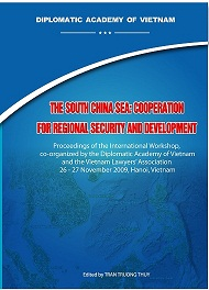 The South China Sea: Cooperation for Regional Security and Devel